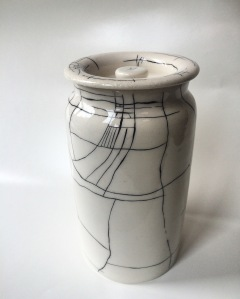(t)here Lidded Jar