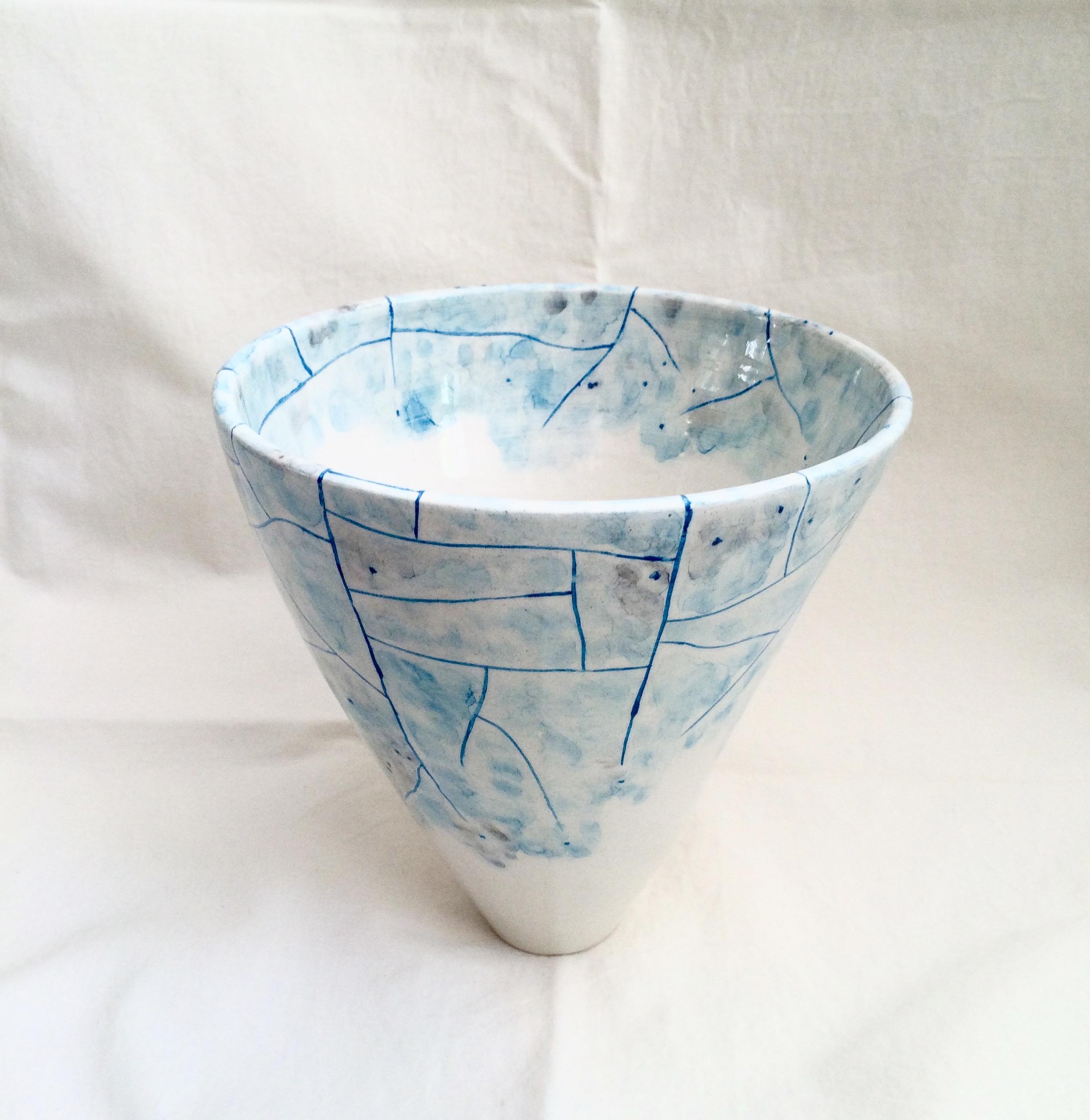 Winter (t)here Vase by NIKORU @nicholehastings