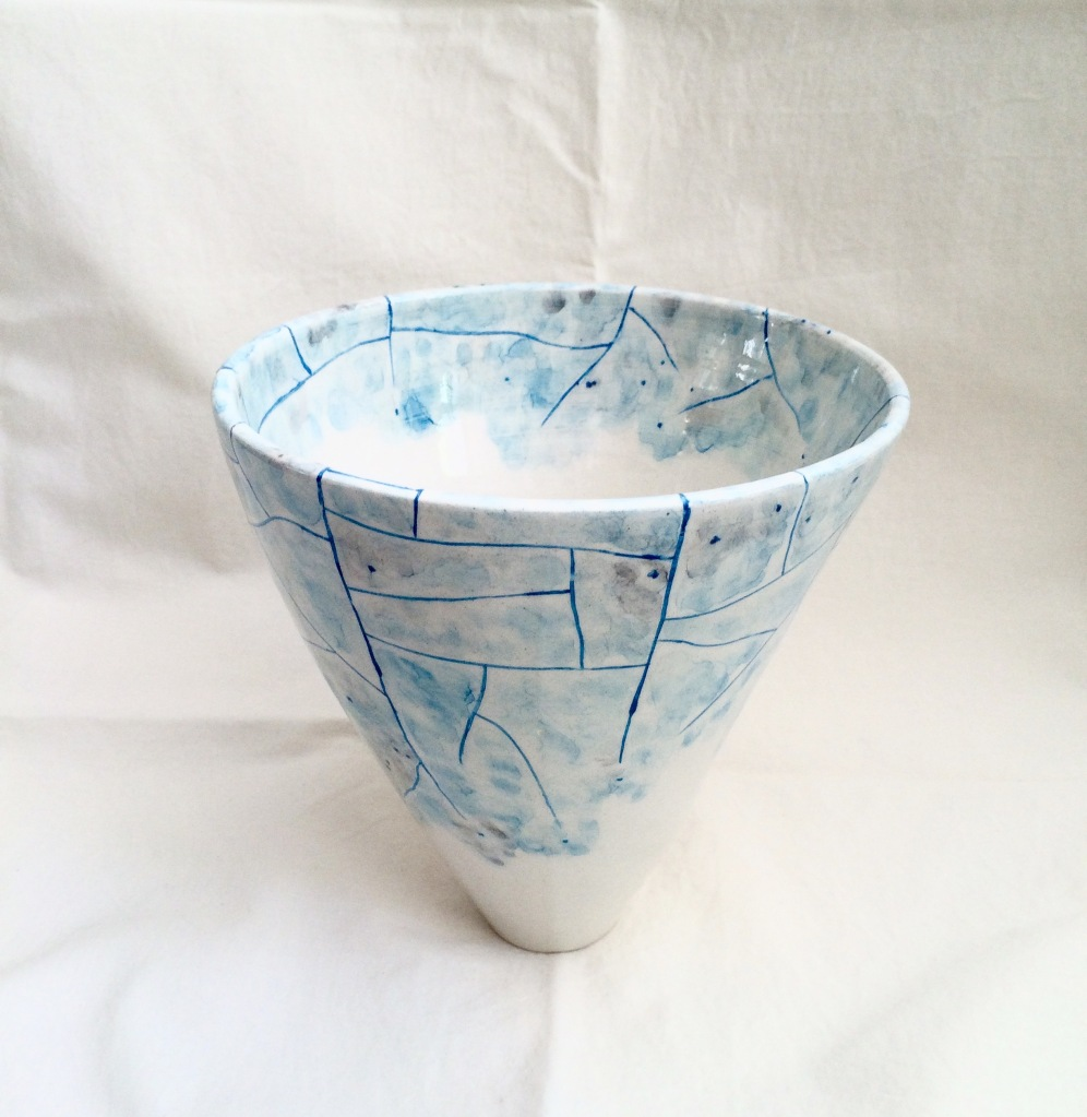 Winter (t)here Vase by NIKORU @nicholehastings