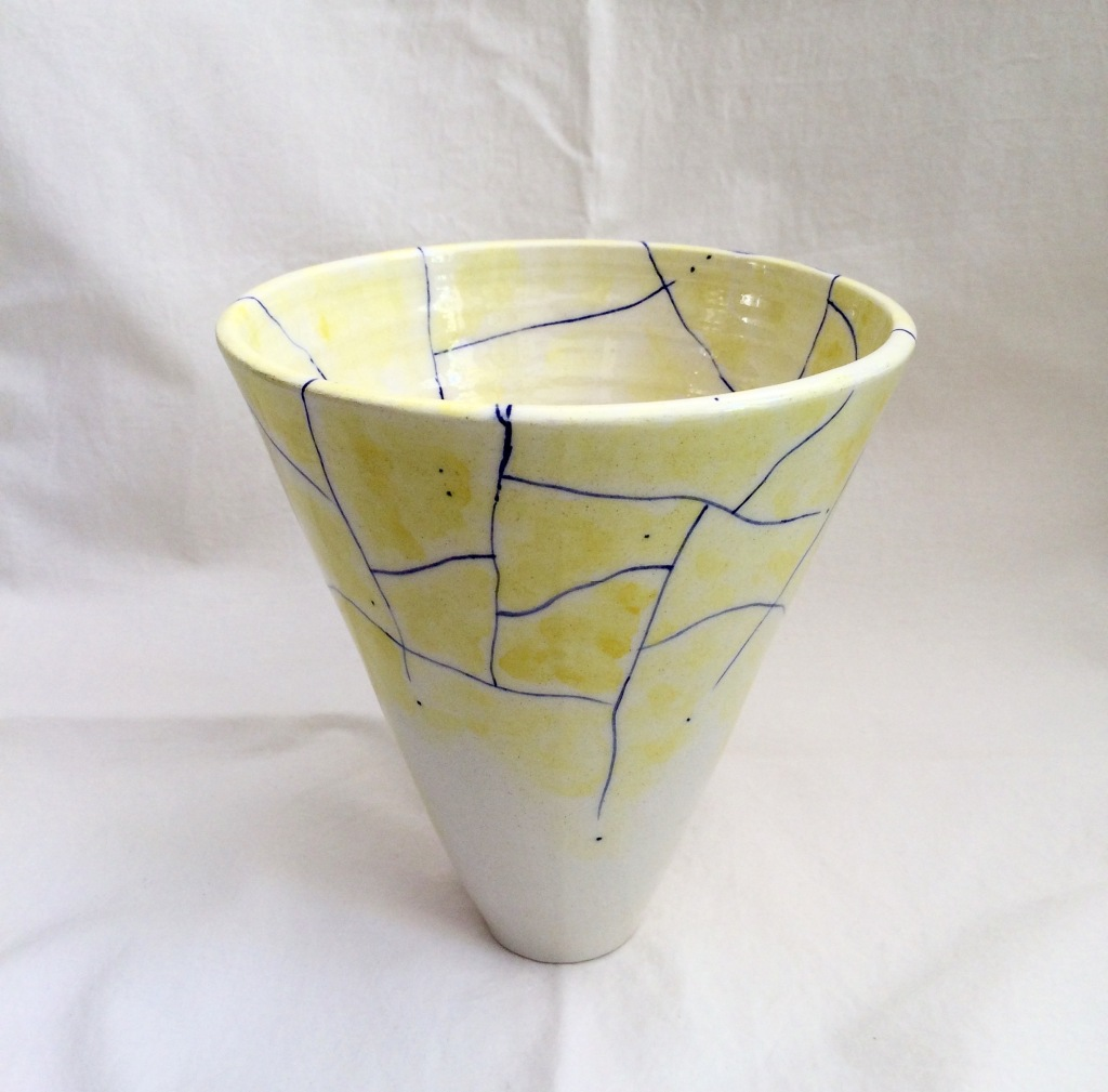 Summer (t)here Vase by NIKORU @nicholehastings