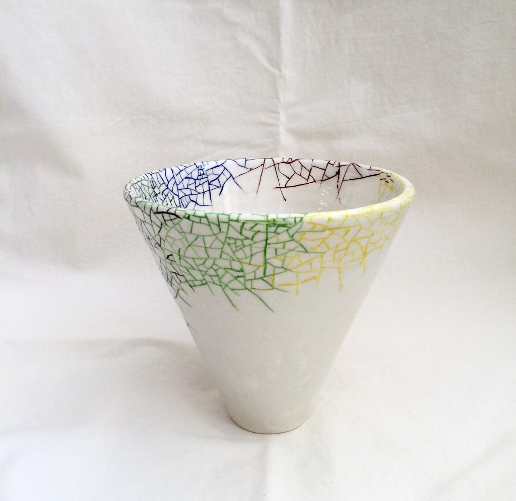 Autumn (t)here Vase by NIKORU @nicholehastings