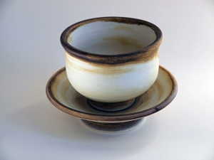 White Teabowl Set no. 4